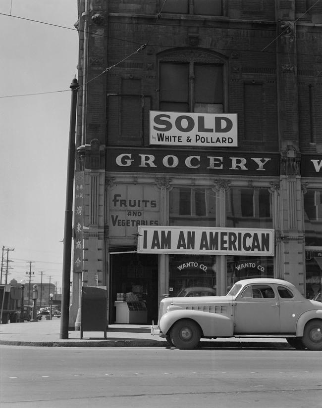 Dorothea Lange (1895-1966) 'Oakland, California, March 1942' 1942