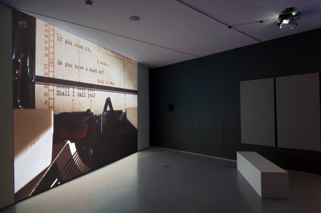Akram Zaatari. 'Tomorrow Everything will be Alright' 2010 (installation view)