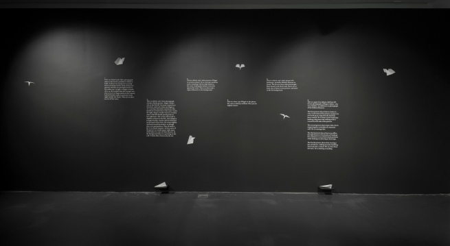 Akram Zaatari. 'Letter to a Refusing Pilot' (installation view) 2013