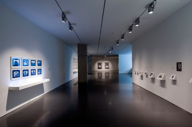 Installation view, 'Akram Zaatari: The Fold - Space, time and the image'