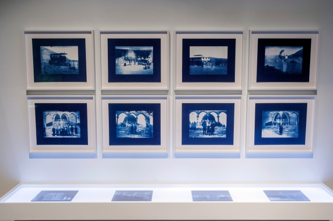 Akram Zaatari. 'Un-Dividing History'(installation view) 2017