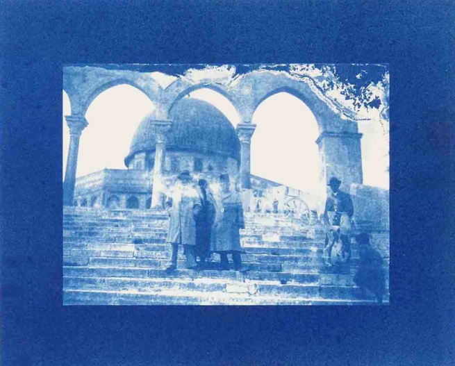 Akram Zaatari. 'Un-Dividing History'(details) 2017