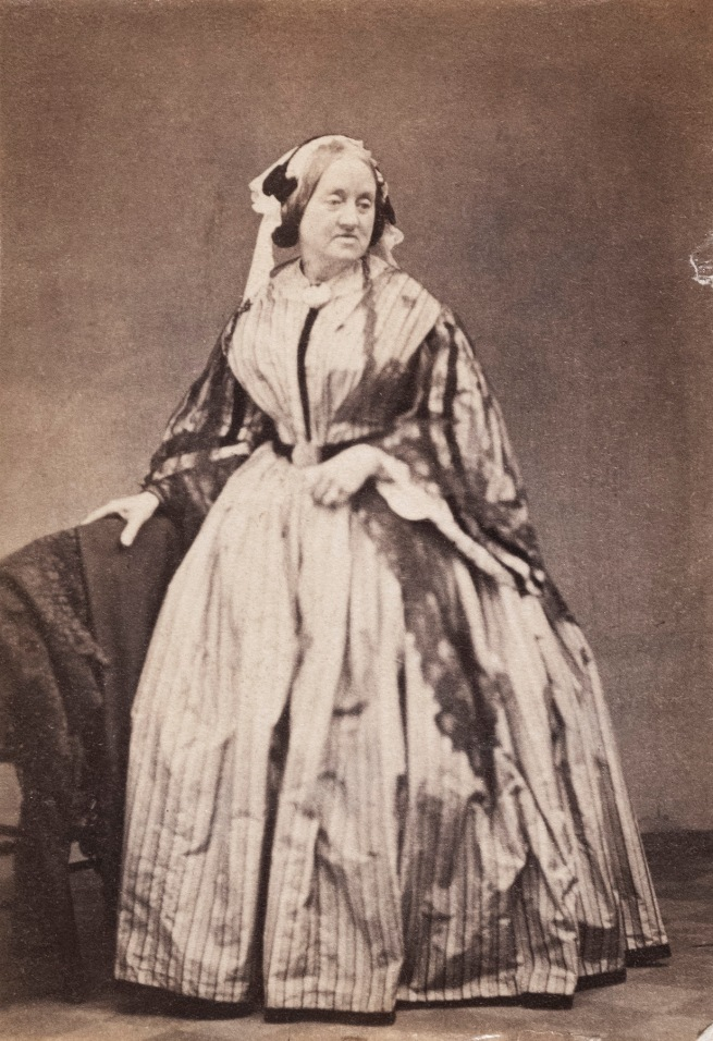 Unknown photographer. 'Portrait of Anna Atkins' c. 1862