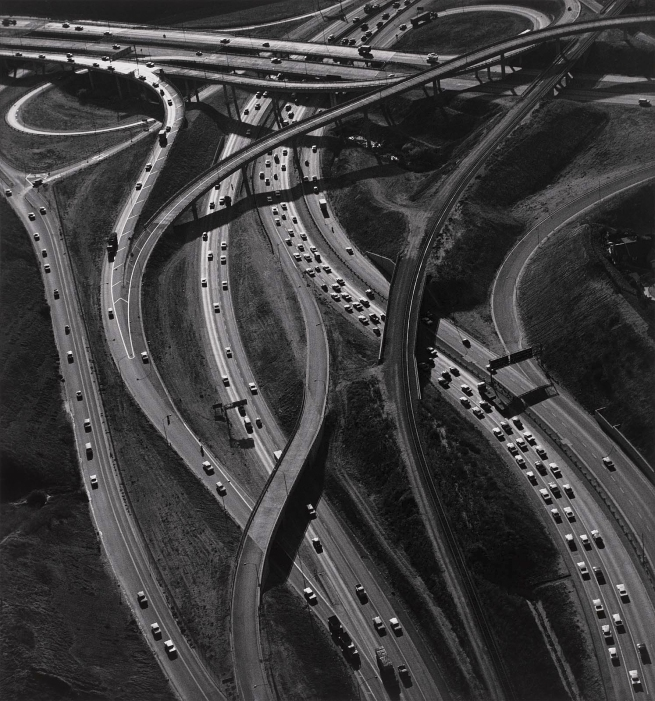 Ansel Adams (American, 1902-1984) 'Freeway Interchange, Los Angeles' 1967