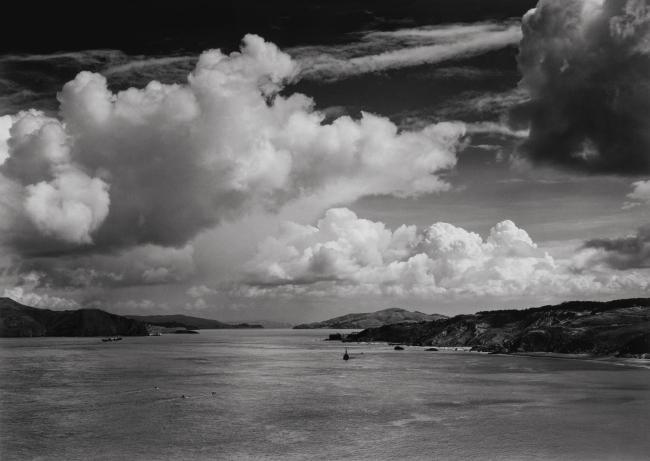 Ansel Adams (American, 1902-1984) 'The Golden Gate Before the Bridge, San Francisco' 1932