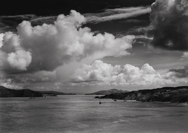 Ansel Adams (American, 1902-1984) 'The Golden Gate Before the Bridge, San Francisco' 1932