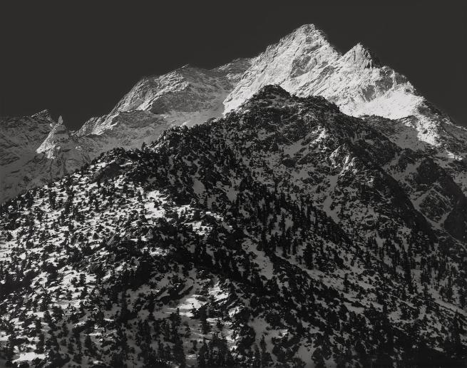 Ansel Adams (American, 1902-1984) 'Lone Pine Peak, Sierra Nevada, California' 1948
