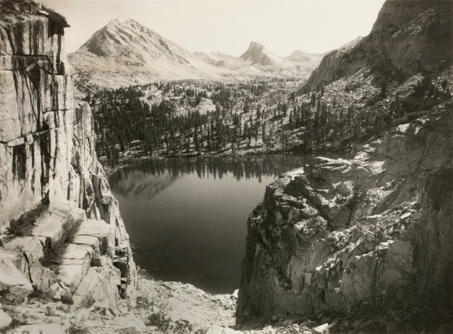 Ansel Adams (American, 1902-1984) 'Marion Lake, Kings River Canyon, California' c. 1925