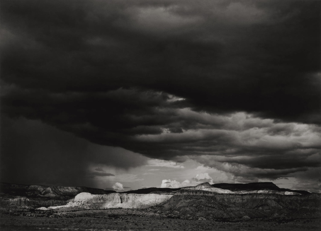 Ansel Adams (American, 1902-1984) 'Thunderstorm, Ghost Ranch, Chama River Valley, Northern New Mexico' 1937
