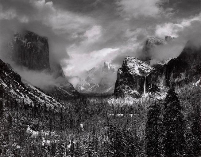 Ansel Adams (American, 1902-1984) 'Clearing Winter Storm, Yosemite National Park' c. 1937