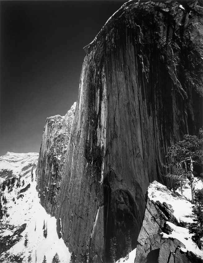 Ansel Adams (American, 1902-1984) 'Monolith - The Face of Half Dome, Yosemite National Park' 1927