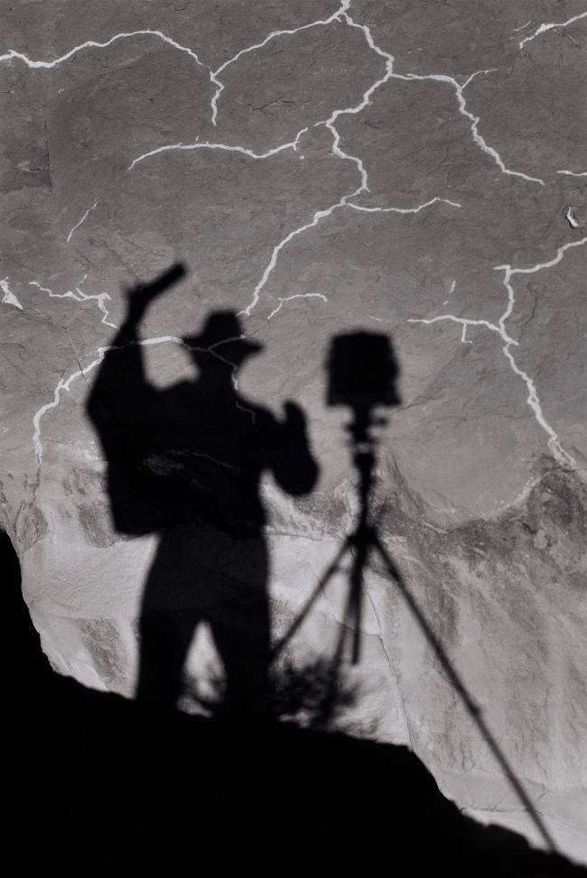 Ansel Adams (American, 1902-1984) 'Self‑Portrait, Monument Valley, Utah' 1958