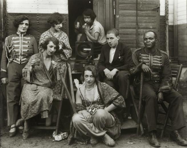 August Sander (German, 1876-1964) 'Zirkusartisten' (Circus Artists) 1926-1932