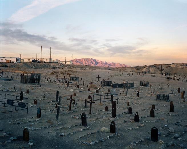 Bryan Schutmaat (American, born in 1983) 'Cemetery, Tonopah, NV' 2012
