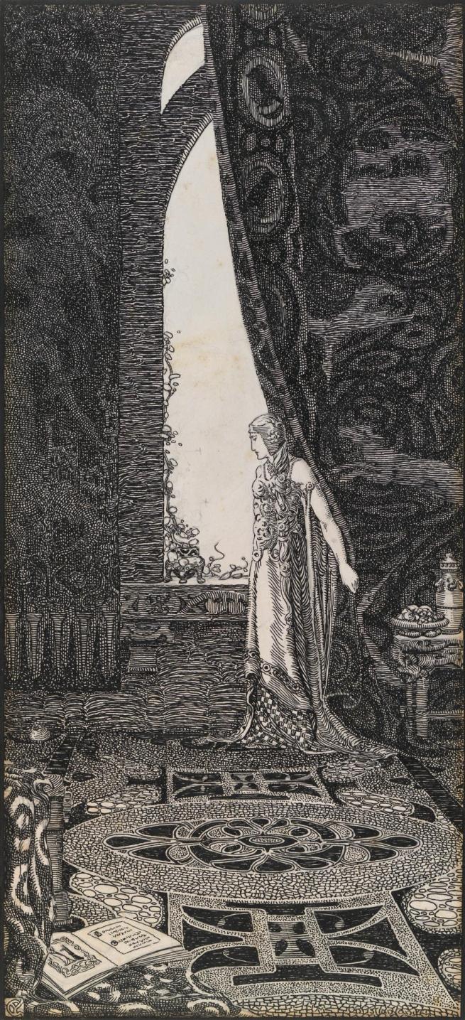 Christian Waller(1894-1954) 'Ethlinn' c. 1921