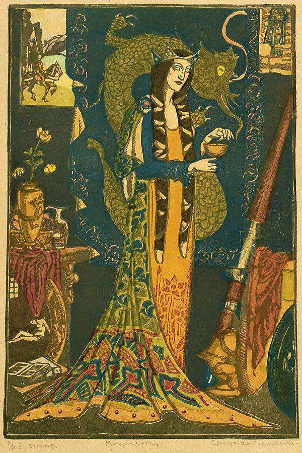 Christian Waller (1894-1954) 'Morgan Le Fay' c. 1927