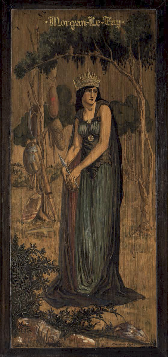 Christian Waller. 'Morgan Le Fay' c. 1925