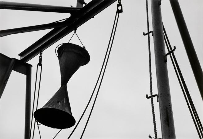 Ralston Crawford (American 1906-1978) 'Fishing Boat Stern Rigging' 1971