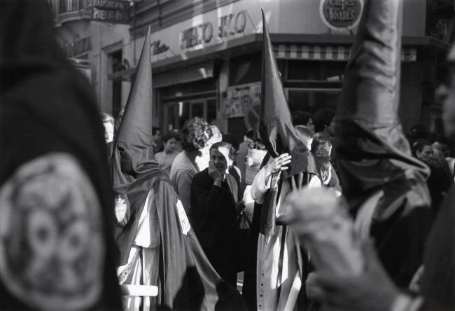 Ralston Crawford (American 1906-1978) 'Holy Week, Seville, Spain' 1972