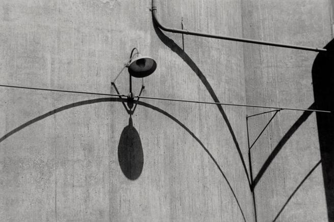 Ralston Crawford (American 1906-1978) 'Grain Elevators, Buffalo' c. 1942
