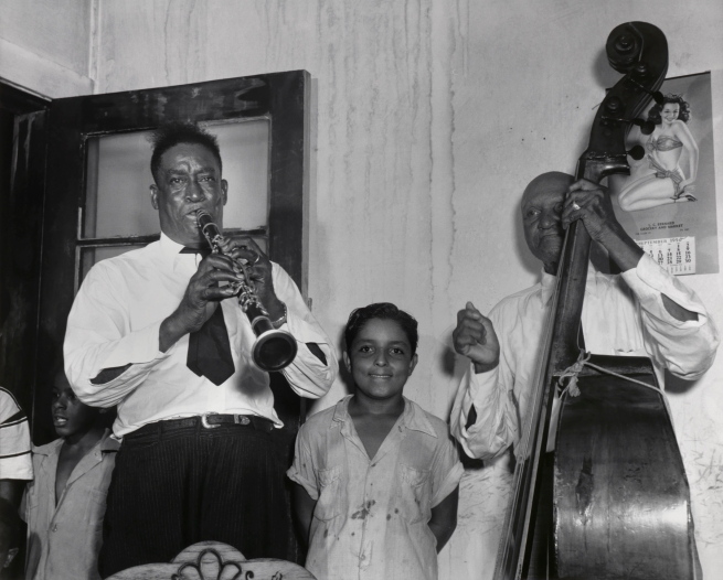 Ralston Crawford (American 1906-1978) 'Emile Barnes's Louisiana Joymakers' 1950