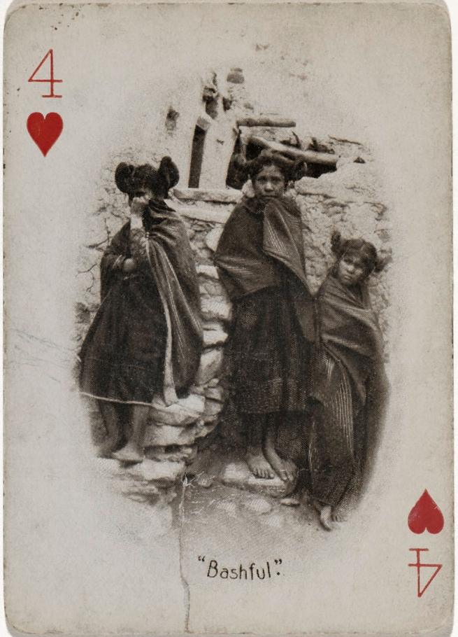 Adam Clark Vroman. 'Four of Hearts (Bashful)' c. 1894