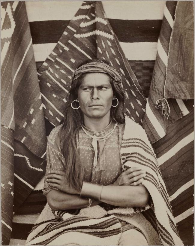 John K. Hillers (American (born in Germany), 1843-1925) 'Big Navajo' c. 1879-80