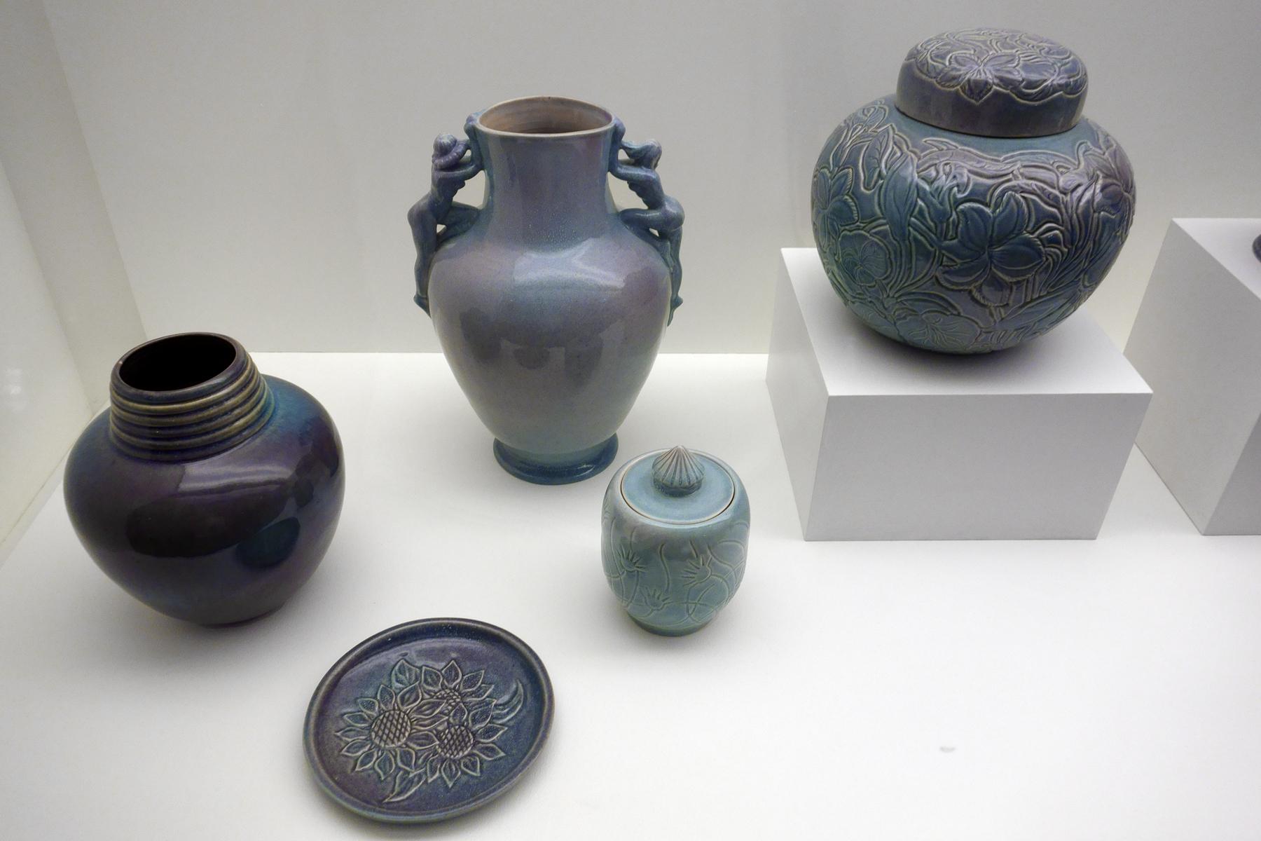 Art Glass Generous Vintage Square Textured Davidsons Luna Vase