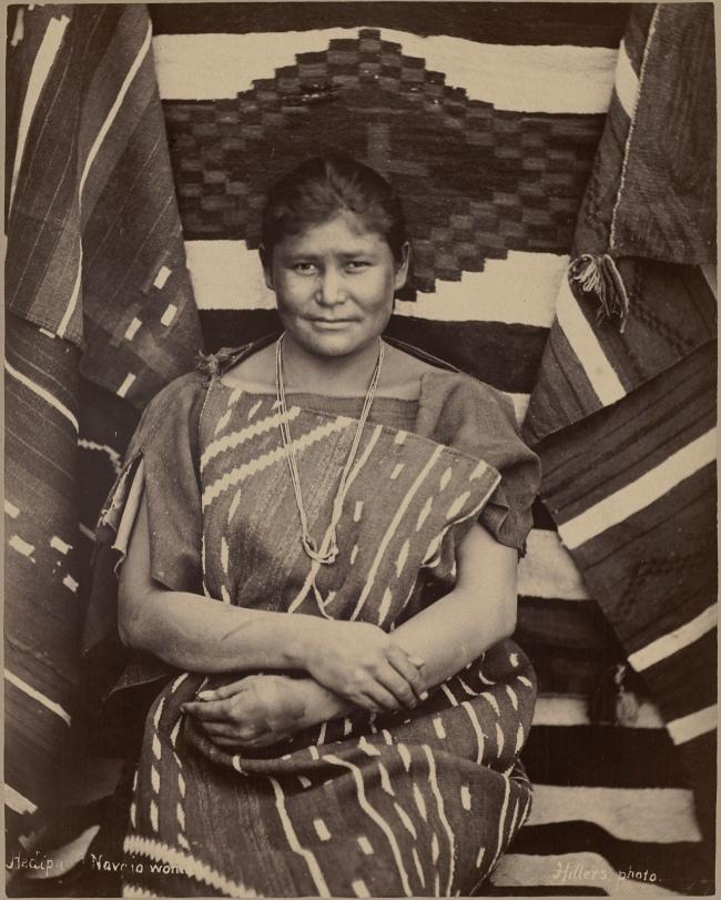 John K. Hillers. 'Heaipu, Navaho Woman' c. 1879