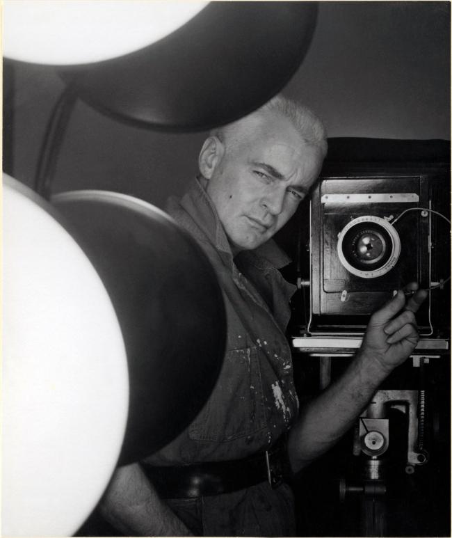 George Platt Lynes (1907-1955) 'Self-Portrait' 1952