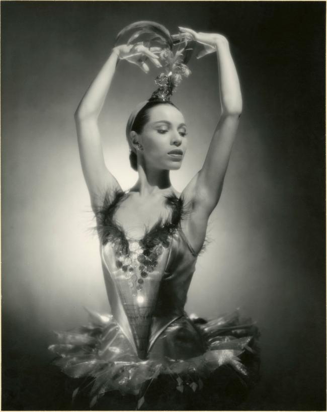 George Platt Lynes (1907-1955) 'Maria Tallchief in Firebird' 1949