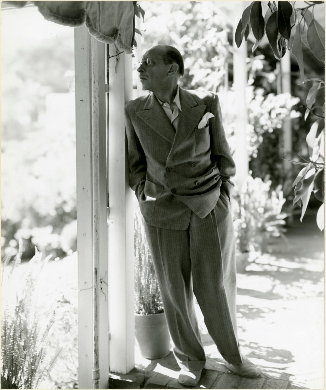 George Platt Lynes (1907-1955) 'Igor Stravinsky' 1947