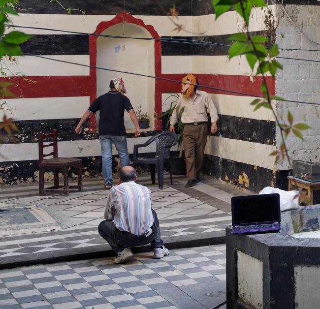 Matthias Bruggmann. 'Bab Hud, Homs, May 26, 2012' (detail)