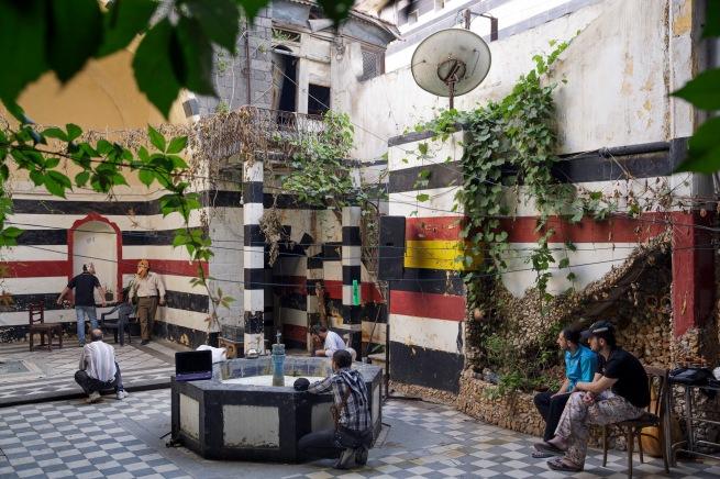 Matthias Bruggmann. 'Bab Hud, Homs, May 26, 2012'