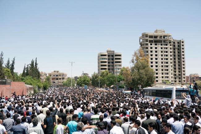 Matthias Bruggmann. 'Kafr Souseh, Damascus, 5 May 2012'