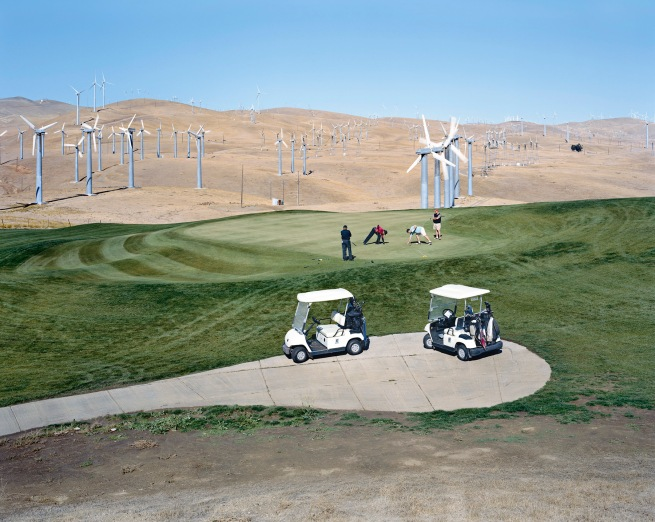 Mitch Epstein (American, born in 1952) 'Altamont Pass Wind Farm, California' 2007