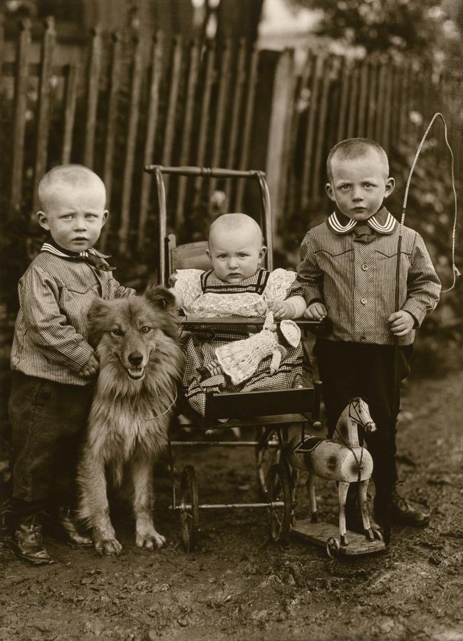 August Sander (German, 1876-1964) 'Farm Children' 1913