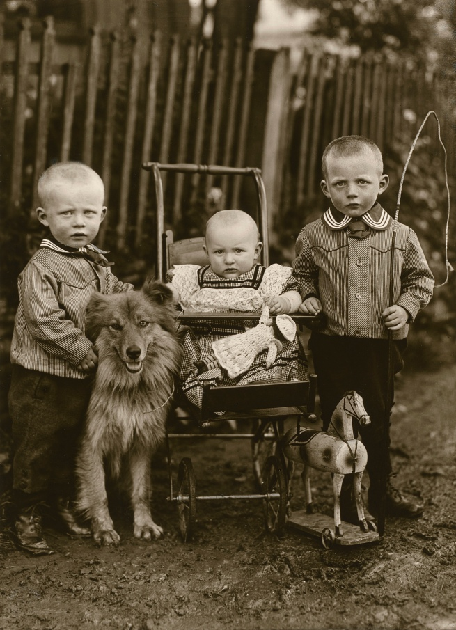 August Sander (German, 1876-1964) 'Farm Children' 1913