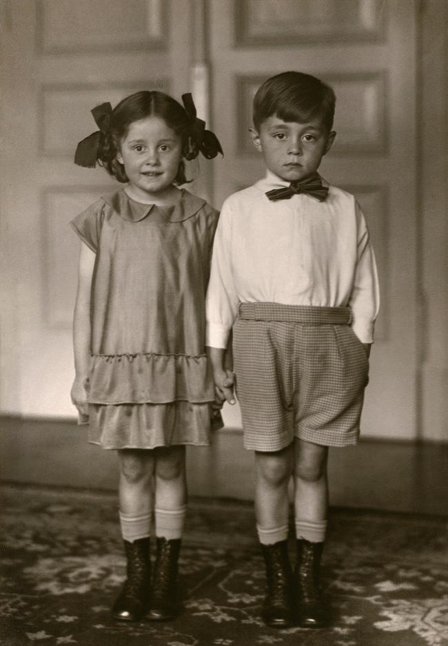 August Sander (German, 1876-1964) 'Middle-class Children' 1925