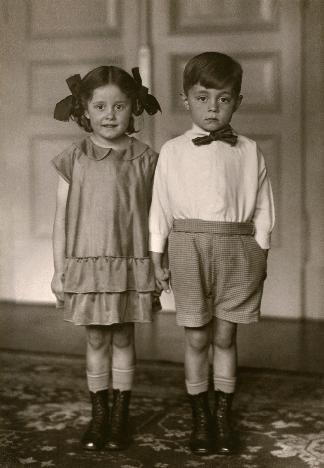 August Sander (German, 1876-1964) 'Middle-class Children' 1925