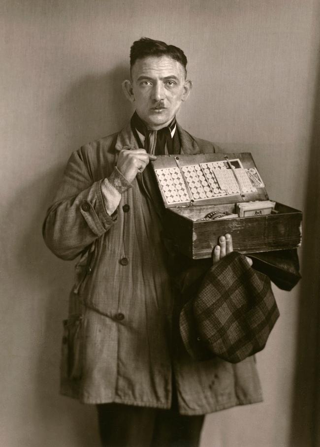 August Sander (German, 1876-1964) 'Peddler' 1930