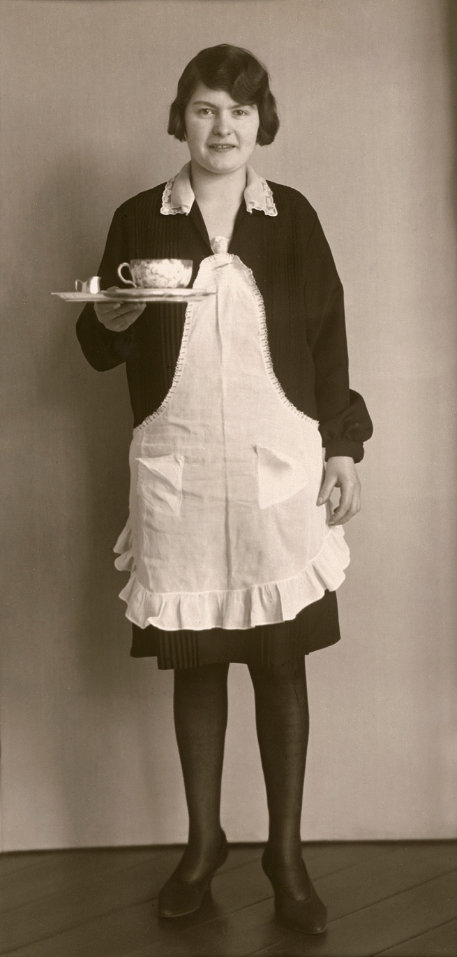 August Sander (German, 1876-1964) 'Café Waitress' 1928/29
