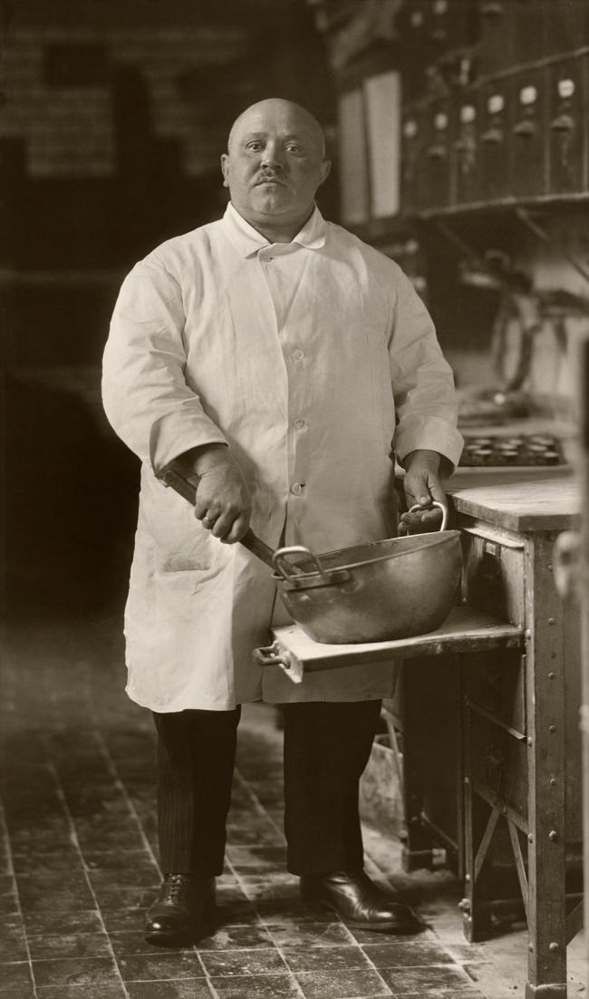 August Sander (German, 1876-1964) 'Pastry Cook' 1928