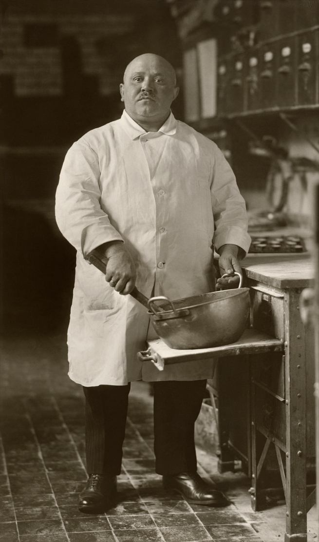 August Sander (German, 1876-1964) 'Pastry Cook' 1928