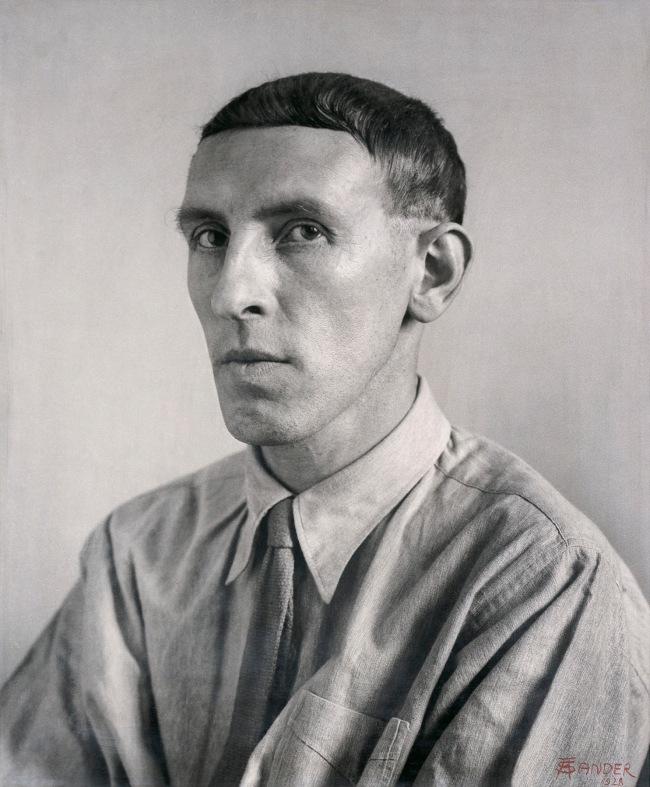 August Sander (German, 1876-1964) 'Painter [Heinrich Hoerle]' 1928-1932
