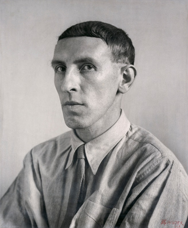 August Sander (German, 1876-1964) 'Painter [Heinrich Hoerle]' 1928-1932