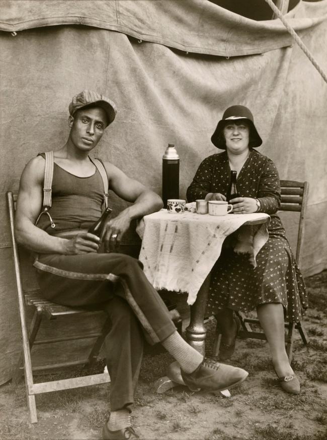 August Sander (German, 1876-1964) 'Circus Worker' 1926-1932