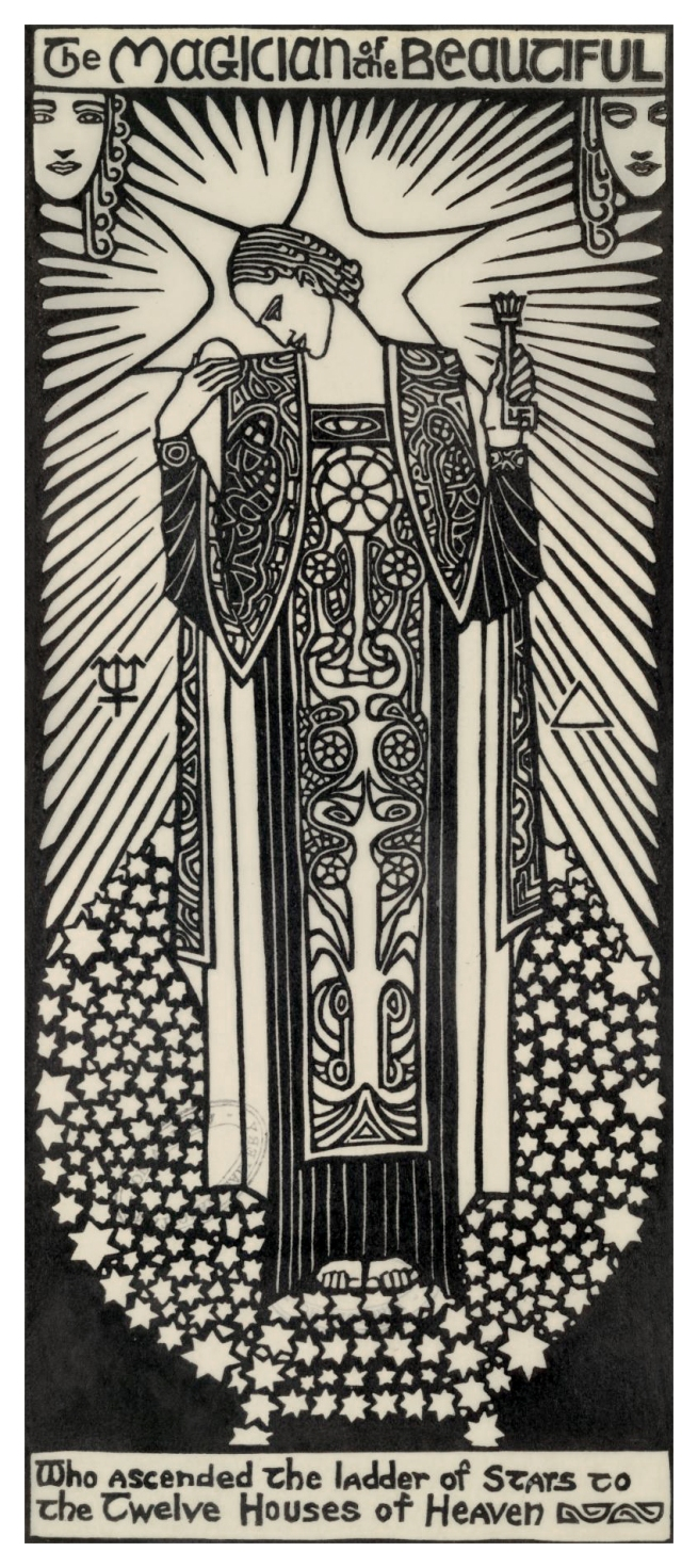 Christian Waller (Australian, 1894-1954) 'The Magician of the Beautiful' from 'The Great Breath: A book of seven designs' 1932