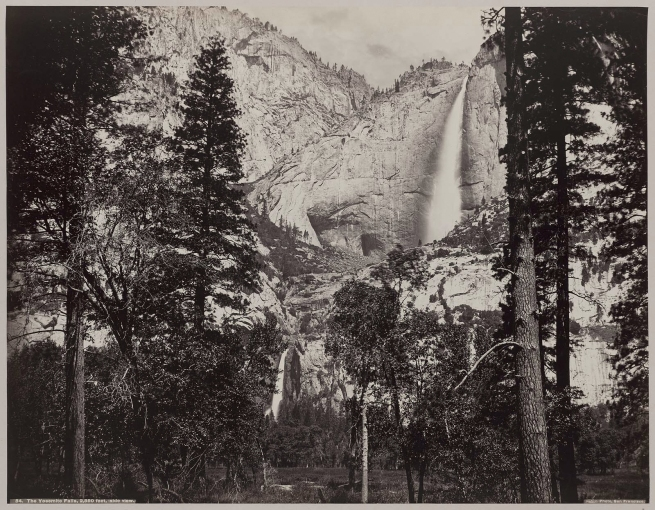 Carelton E. Watkins. 'The Yosemite Falls' 1861