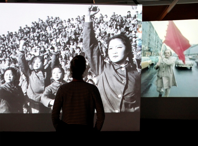 Installation views of the exhibition '68. Pop and Protest' at the Museum für Kunst und Gewerbe Hamburg (MKG)